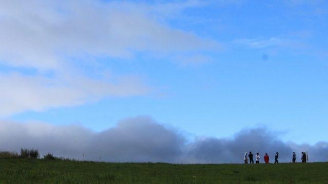 岩手県奥中山の大草原