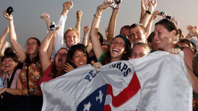 アメリカ版青年海外協力隊のピースコー
