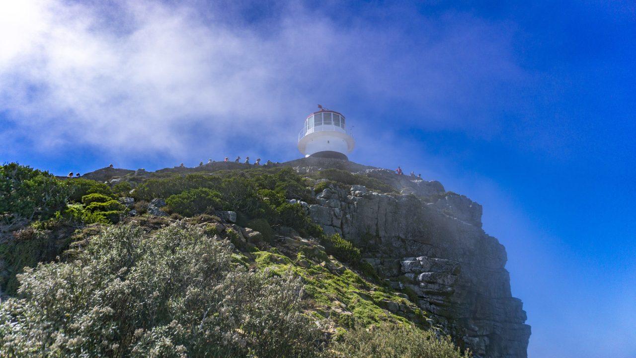 ケープタウンの喜望峰にある灯台