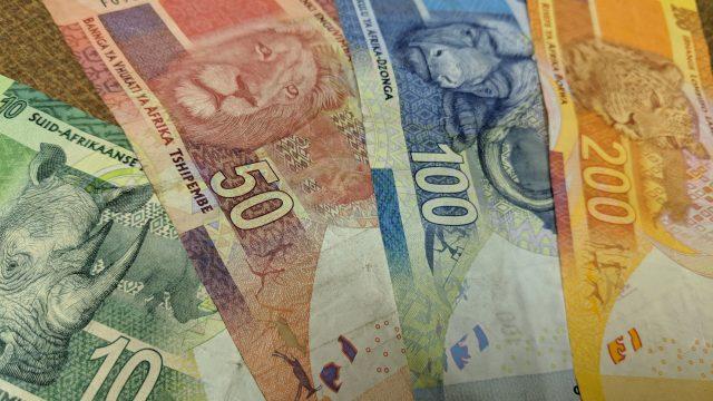 南アフリカの通貨は『南アフリカランド(R)』 紙幣と硬貨のデザイン