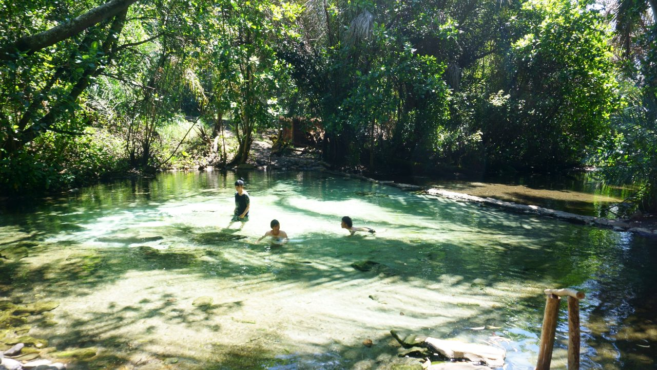 アフリカの温泉「カピシャ温泉」が神だったので猛烈におすすめしたい件