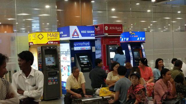 ミャンマーのクレジットカード事情 両替不要でATMキャッシングが便利