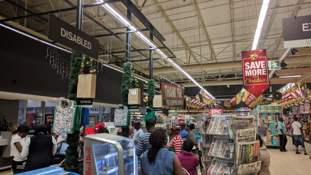 【どこが】南アフリカのスーパーマーケットの満足度調査【ベストか?】