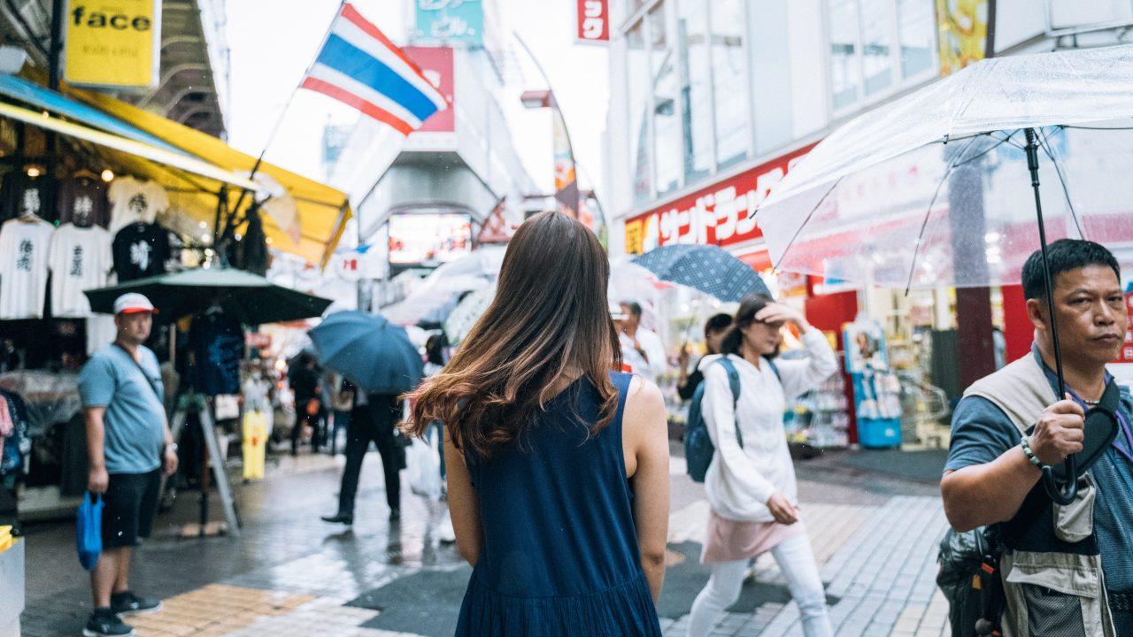 【上野】アメリカ横丁でスナップポートレート撮影 作例有【α7III】
