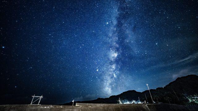 【田舎】伊豆下田で眺める星空が素敵すぎるので見てください【天の川】
